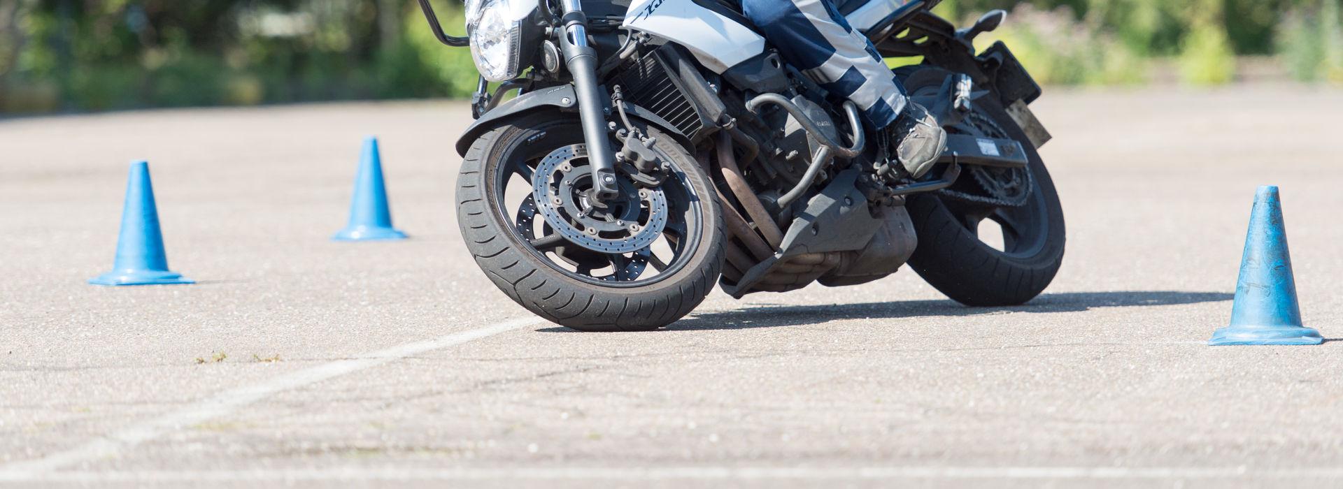 Motorrijbewijspoint Limburg rijtest